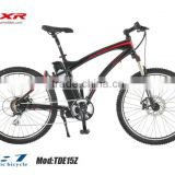"26""full suspension electric mountain bike                                                                         Quality Choice"