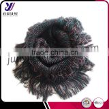 Fashionable crochet loop knit lady scarf neckwarmer infinity knit pashmina scarf factory wholesale sales(Can be customized)