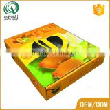 Guangzhou manufacture glossy lamination corrugated paper custom made gift boxes big gift box for fruit packaging