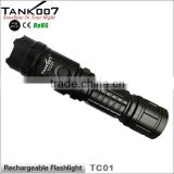 led flashlight torch rechargeable led lights emergency car set lamp