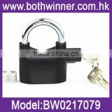 Black Iron Siren Padlock