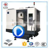 Max Movement 800/500/500 High Quality 5 Axis Vertical CNC Turning Center For Aluminum Alloy