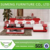 High armrest home furniture sofa set, living room furniture l shape sofa                                                                         Quality Choice