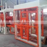 construction building diesel engine manual cement concrete hollow block brick making machine