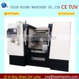 Alloy wheels lathe CNC Machine , Automotive Wheel Repair CNC Lathe Machine for BMW wheels