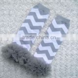 KP-LWR035 Lovely grey chevron baby toddler arm warmer children socks legging 2015