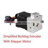 3D Printer Parts Simplified Version Bulldog Universal Extruder Kit Aluminium Alloy Extruder MK8 With 42 Stepper Motor