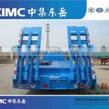 Widely Used / with Low Price 3 Axles Low bed Semi Trailer Truck from China semi trailer manufacturer