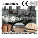 JL series corrugated paperboard gum mounting machine/flute laminator/corrugated paper cardboard making machines