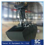 PC300 excavator bucket excavator hydraulic rotating grab clamshell