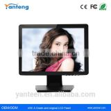 Plastic casing 17inch led touch monitor for the POS machine
