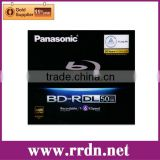 Panasonic 50GB Blu ray Double Layer Recordable Disc BD-R DL, model:LM-BR50MWE