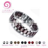 negative ion Infrared germanium tourmaline health energy zircon bio magnetic tungsten bracelets