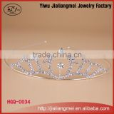 Bridal Wedding Prom Princess Flower Girl / Baby Rhinestone Full Circle Round Mini Crown CT1040