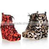 winter boots women shoes wedge heel shoes CP6407