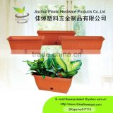 terracotta rectangular planter is wholesale decorative plastic flower pots which is high tech products