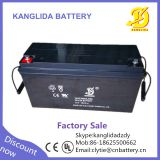 Kanglida 12v 150ah lead acid ups battery for solar