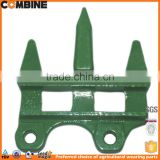 Triple guard for John Deere combine harvester