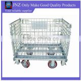 OEM wire mesh metal foldable cage pallets