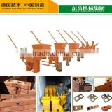 New design manual hand clay brick making machine for wholesales
