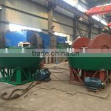 Good price!!! Wholesale gold refining machine, gold grinding machine, wet pan mill for Sudan gold mine