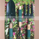 sponge rubber thimble wooden handle garden tool