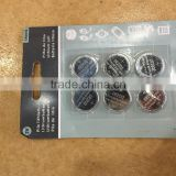 Good quality manufacturer free mercury button cell