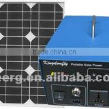 30w Portable Solar Power System With DC&AC Output