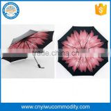 promotion solar outdoor beach umbrella folding garden umbrella