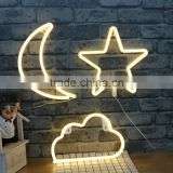 New baby room led decoration star cloud lamp battery or usb power night lights