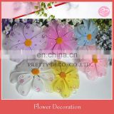 New style double leaves artificial silk flower