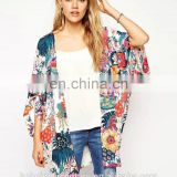 New dress for women Europe America new autumn wind flower printing chinese style Rural wind printed cardigan Ladies' coat 2015