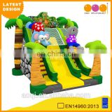 2015 AOQI latest design cheap price safari outdoor inflatable slide for kids for sale