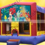 inflatable party jumper, cheap bouncer,inflatable castle d051