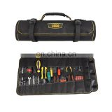 Polyester material waterpro rolling tool bag for hairdresser