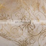 Wholesale Flocking Organza Fabric