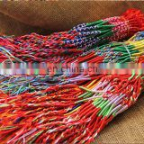 Lots Colorful Braid Strands Friendship Cord Handmade Bracelet Costume Jewelry