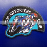 sport club woven badges with high quality and cheao price