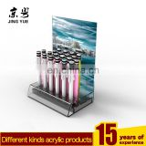 L shape clear pmma plexiglass pen pencil display stand acrylic pen pencil stand