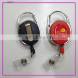 Professional Badge Reel Clip Carabiner Retractable made in China