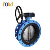 DI/CI Flanged Butterfly Valve with Rubber Lined Body