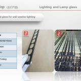3-8MM Custom Tempered safety glass lens shade round 125mm diameter for LED Surface Panel Light Round