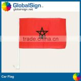 Auto window car flag perfect for parades