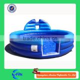 new style round shape inflatable foam pit