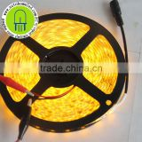 5M 16.4Feet Yellow LED Flexible Strip 300SMD 5050 with DC Connector