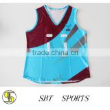 custom unique basketball jersey sublimation printing with team logo, number and name no moq