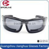 Hot new products cheap price fashion sunglasses funny safety glasses with black frame transparent lens