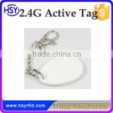 HSY manufacturer best selling security 2.4G/2.45G long range contactless long distance active rfid tag price