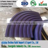 Anti-static plastic UHMWPE conveyor roller chain track