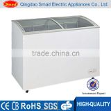 Supermarket showcase refrigerator commercial freezer supermarket open display fridge blast freezer